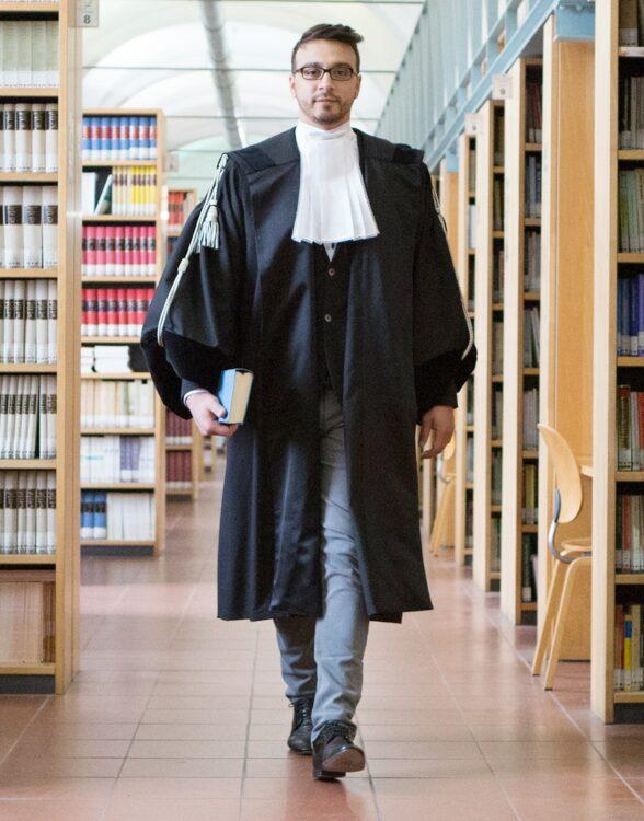 toga per avvocato organic